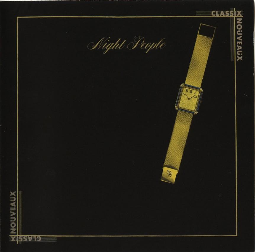 classix nouveaux, night people, 1981