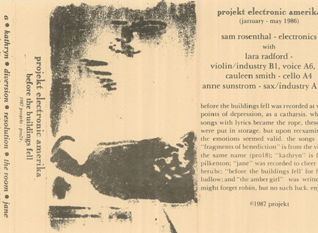 Projekt Electronic Amerika - Before the Buildings Fell (1987)