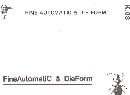 FineAutomatiC & Die Form - FA & DF (1982)
