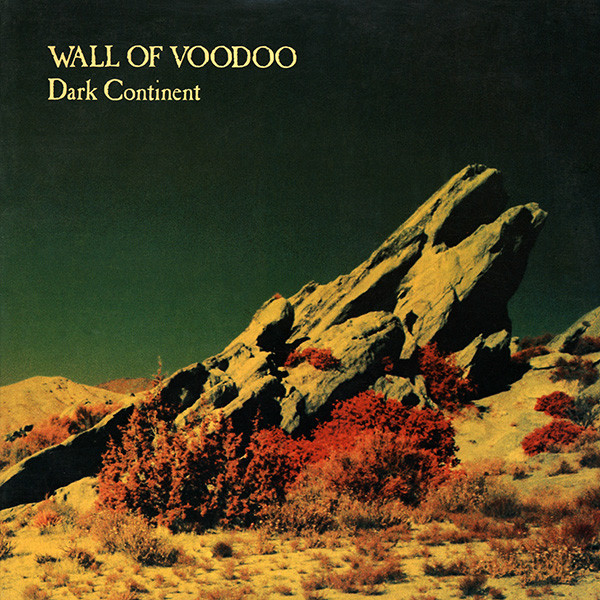 wall of voodoo, dark continent, 1981, front, cover