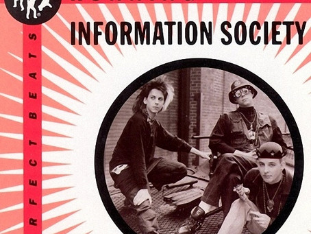 Information Society - Running 12'' (1984)