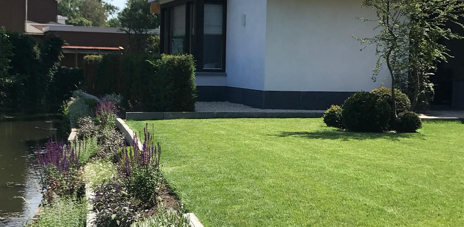 tuinontwerp, van der rhee, outdoor design, villatuin, alblasserdam