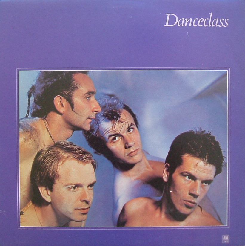danceclass, 1982, front, cover
