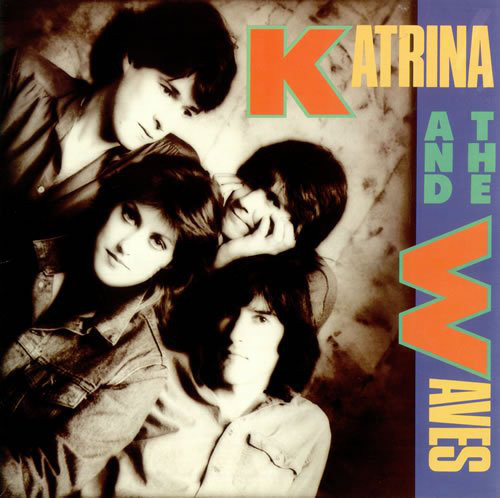 katrina and the waves, 1985, front, cover