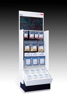 pak, projectrealisatie, alblasserdam, interieur, displays, stands, verpakking, abb