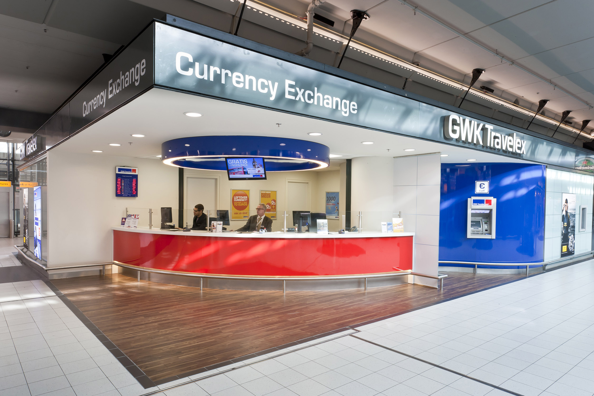 GWK Travelex shop Schiphol