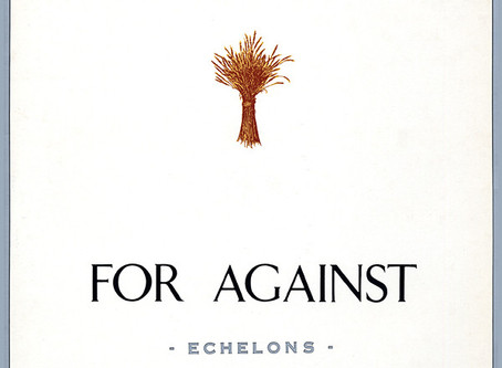 For Against - Echelons (1987)
