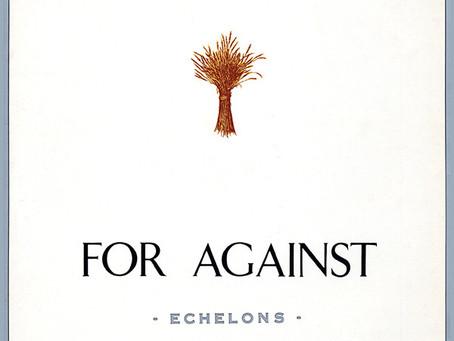 For Against - Echelons (1987)