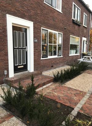 Klassiek Hollandse voortuin Alblasserdam 2