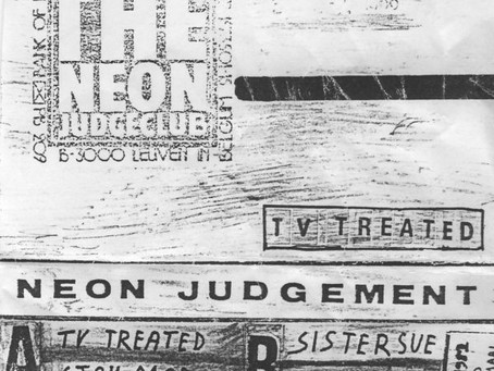 the Neon Judgement - TV Treated EP (1982)