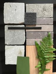 van der rhee, outdoor design, tuinontwerp, materialenplan