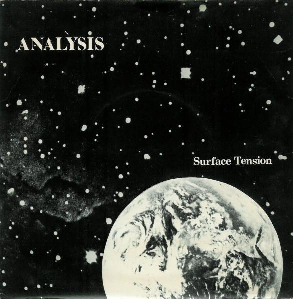 Analysis, Surface Tension, 7'', 1981