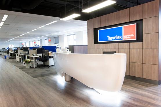 pak, projectrealisatie, projecten,interieur, displays, hoofdkantoor, gwk, travelex, amsterdam