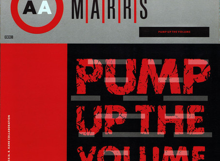 M|A|R|R|S - Pump up the Volume 12'' (1987)
