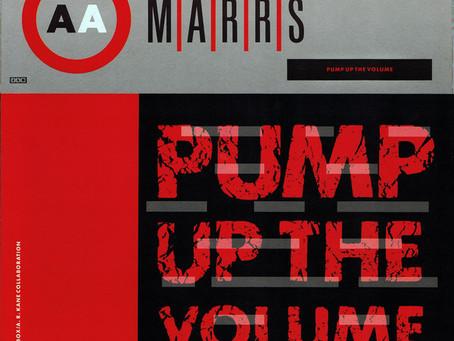 M|A|R|R|S - Pump up the Volume 12'' (1987)