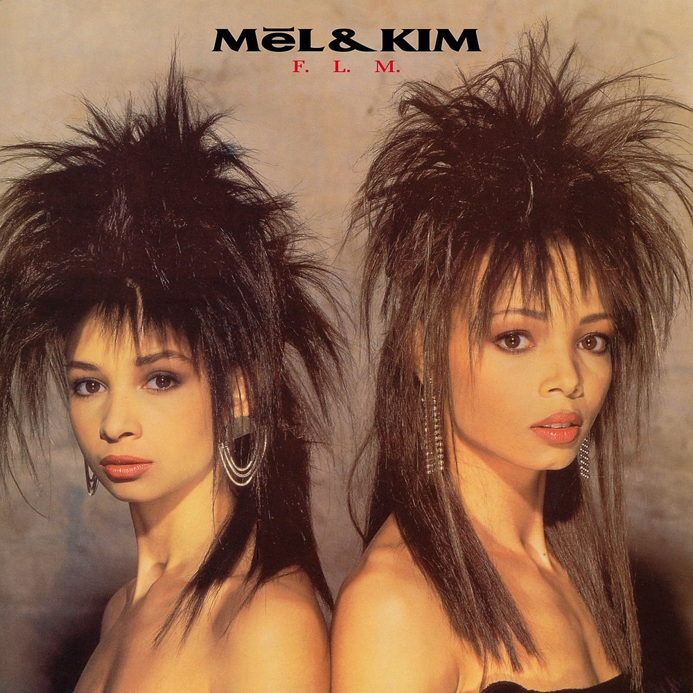 mel and kim, flm, 1987, front, cover