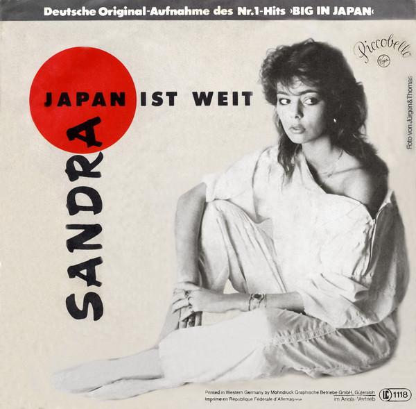 Sandra, Japan ist Weit, 7'', 1984