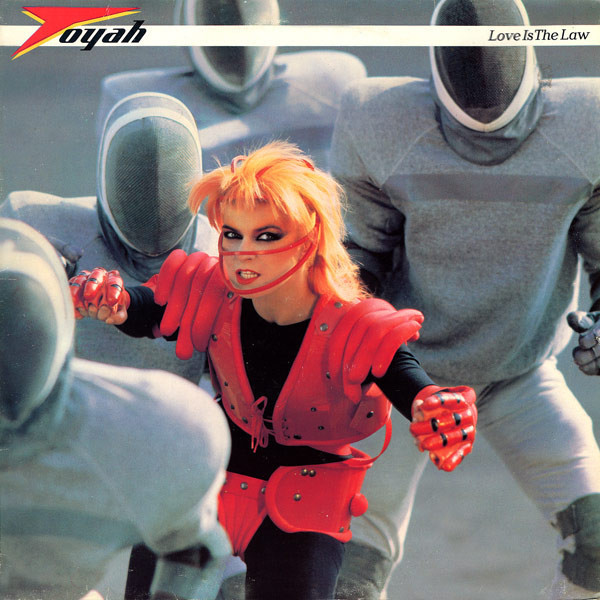 toyah, love is the law, 1983, front, cover