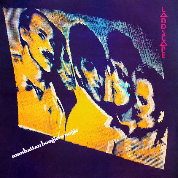 landscape, manhattan boogie woogie, 1982, front, cover