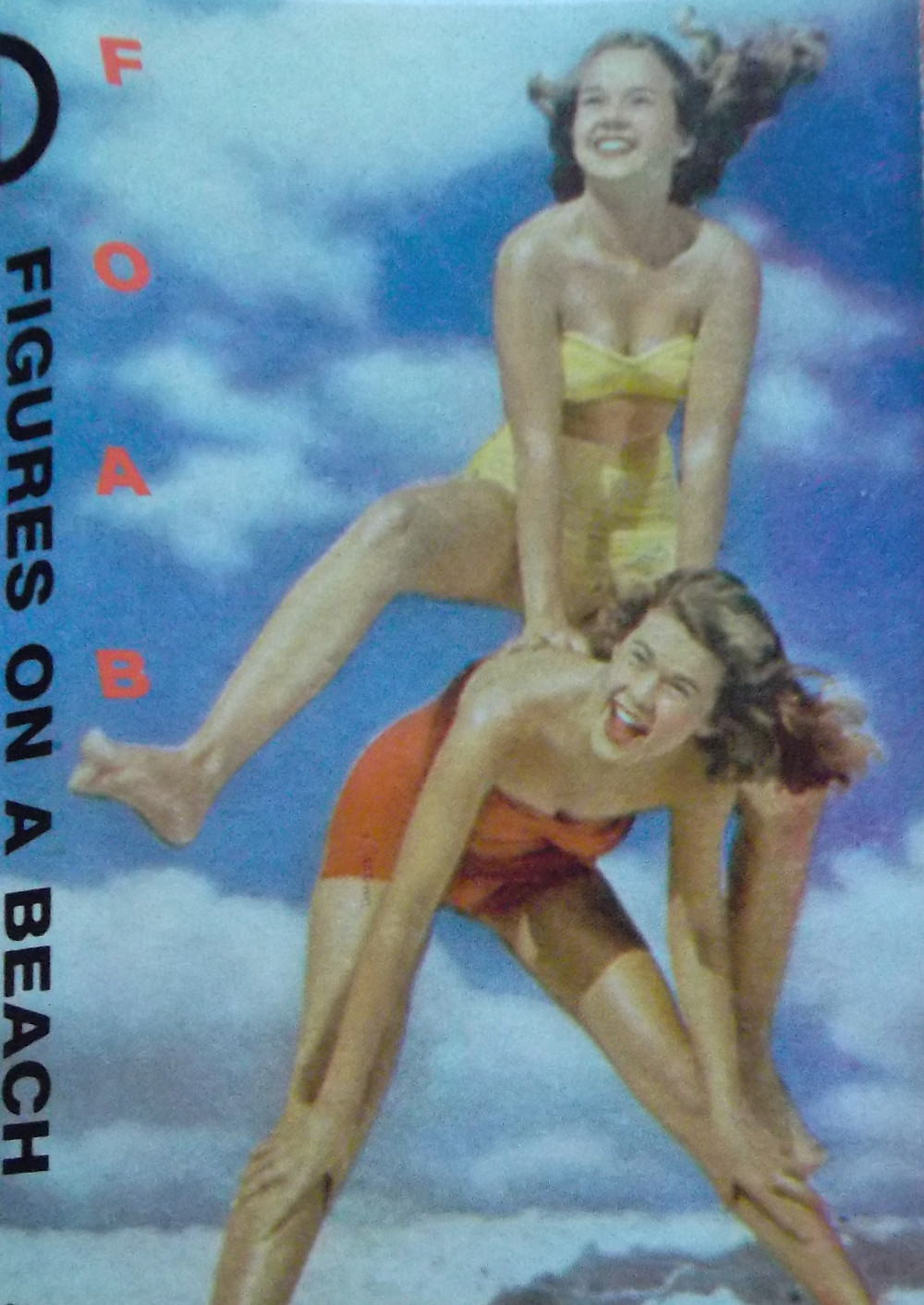 figures on a beach, paradise and other four letter words, 1986, front, cover