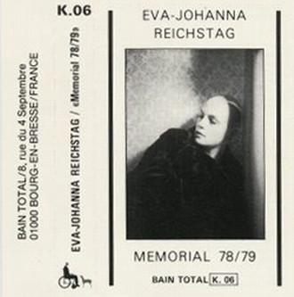 Eva-Johanna Reichstag - Memorial 78/79 (1981)