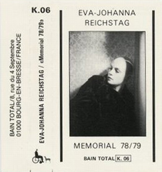 Eva-Johanna Reichstag, Memorial 78/79, 1981
