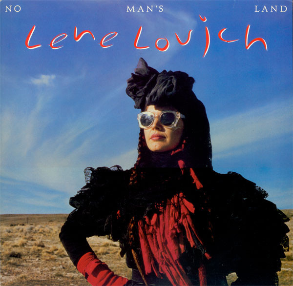 lene lovich, no man's land, 1982, front, cover