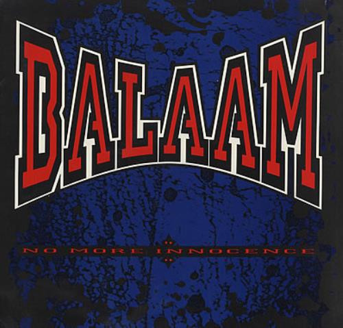 balaam and the angel, no more innocence, 1991, front, cover
