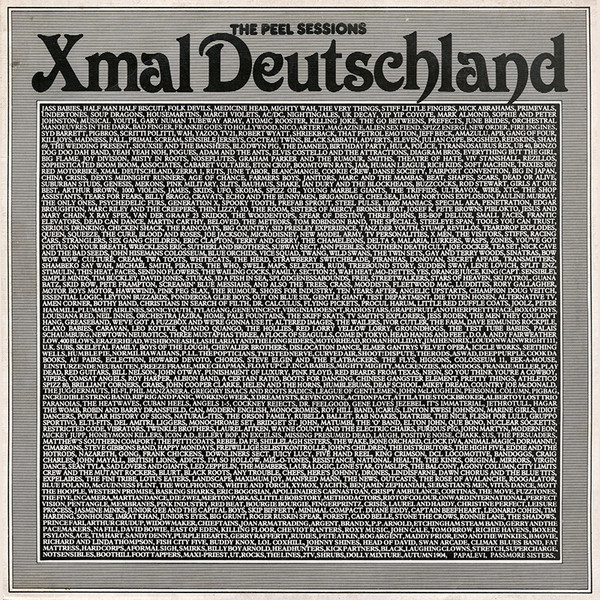 Xmal Deutschland, the Peel Sessions 12'', 1986