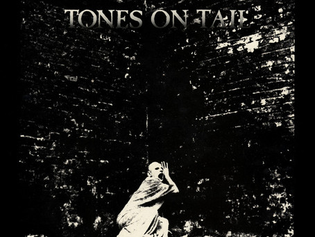 Tones on Tail - Burning Skies 12'' (1983)