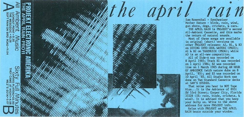 Projekt Electronic Amerika, the April Rain, 1985