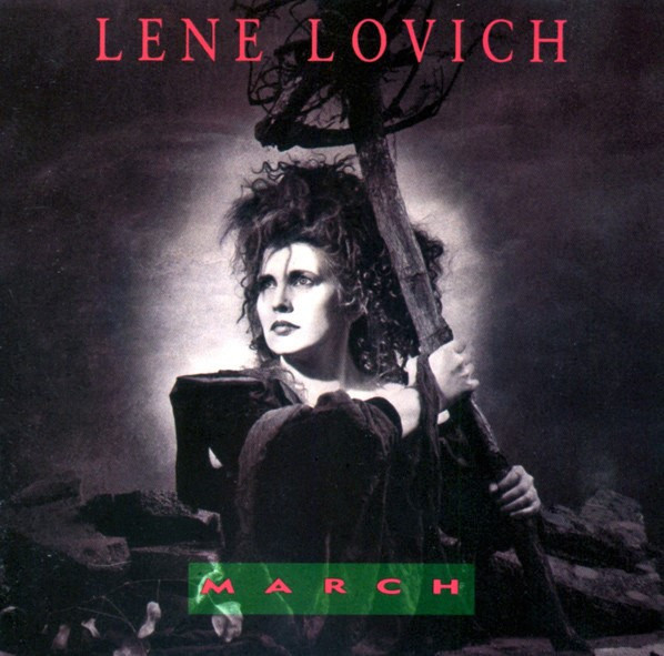 lene lovich, march, 1989, front, cover