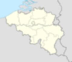 map kaart belgie belgium