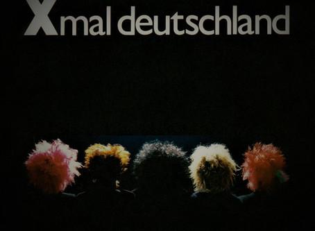 Xmal Deutschland - Schwarze Welt 7'' (1981)