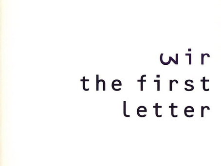 Wir - the First Letter (1991)