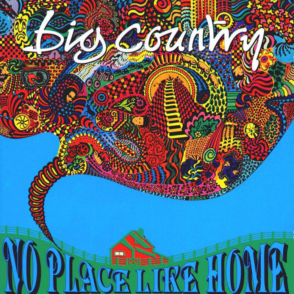 big country. no place like home, 1991, front, cover