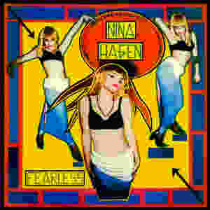 nina hagen, fearless, 1983, front, cover