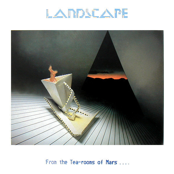 landscape, from the tea-rooms of mars, 1981, front, cover