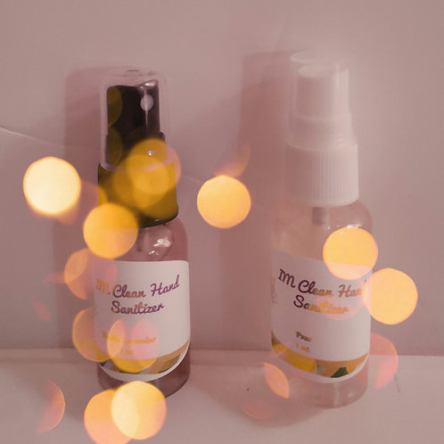 Alcohol free and Alcohol base hand sanitizer