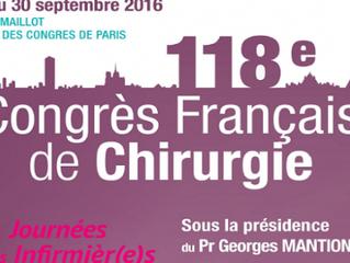 Participation au congrès de l'AFC 2016