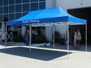 Carpa Rotulada Shaker Rowing