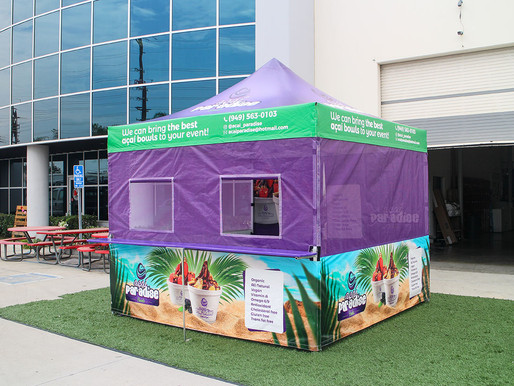 Where to buy food booth tents?