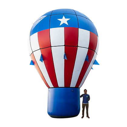 Inflatable Hot Air Balloon Shape
