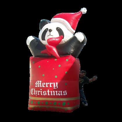 Inflatable Gift Bag & Panda