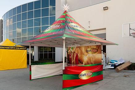 12x12 custom parasol pop up tent Kraft