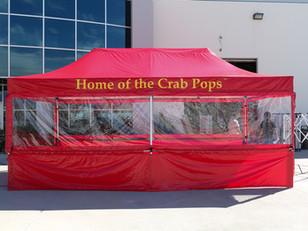 Carpa Plegable 3x6 Crab Pops