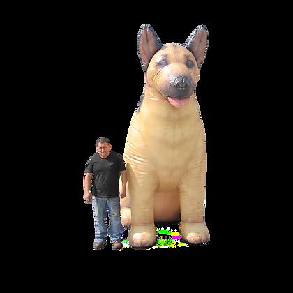 Inflatable German Shepherd