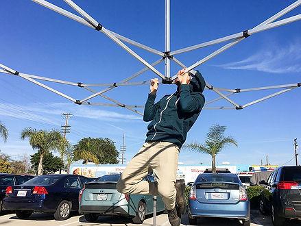 Heavy Duty Pop Up Canopy
