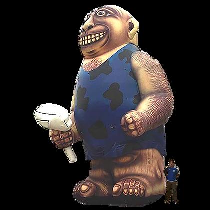 Inflatable Caveman