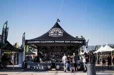 Custom printed high peak tent TVSB
